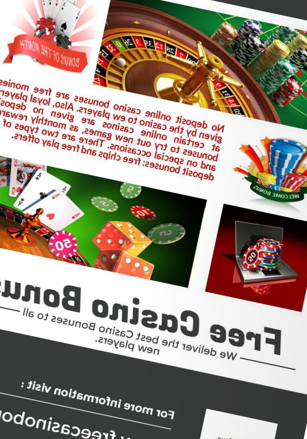 Best Casino Bonuses No Deposit
